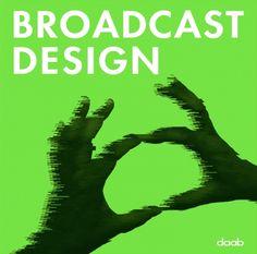 broadcast design - various design books - books-archive - daab art & culture