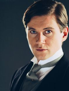 Allen Leech as Tom Branson, Allen Leech as anyone really. <3