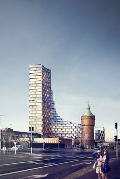 "3XN Designs Affordable Housing Tower in Denmark ... ""La Tour"" 