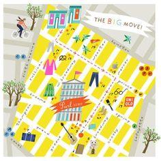 Lena Corwin's Illustrated Maps