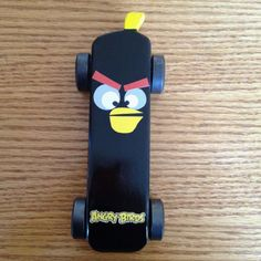 Angry Bird pinewood derby car, this would be fun for Townes's upcoming race! @Joshua Schroeder