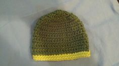 Crochet Baby Hat/Beanie Premee by MadeByMiachelle on Etsy, $8.00