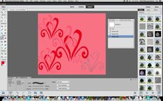 Photoshop elements 12 : Creating patterns from brushes