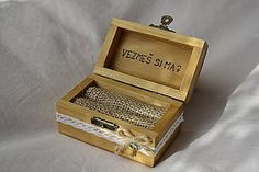 Handmade šperky prstene / SAShE.sk Krabi, Decorative Boxes, Vintage, Vintage Comics, Decorative Storage Boxes