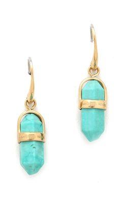 Michael Kors Seaside Luxe Geode Drop Earrings