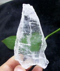20mm Thick super transparent SELENITE slab healing crystal rock China 1515 #UnbrandedGeneric