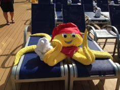 Partner Agent Judy Arndt Travels On Carnival Splendor- Poolside Fun