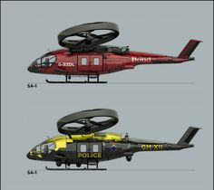 A custom version of the SA/2 Samson Helicopter from Avatar.