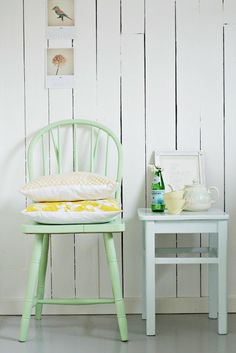 Colores vintage en la decoración: el verde mint. | Decorar tu casa es facilisimo.com