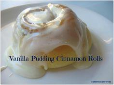 Vanilla Pudding Cinnamon Rolls For the Win!