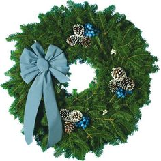 Maine Wild Blueberry Wreath  So beautiful!