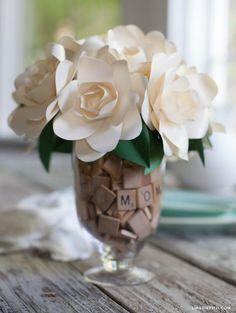 DIY Crepe Paper Flowers : DIY Paper Flower