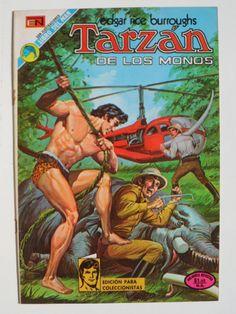 Tarzán de los monos. No. 355 Comic mexicano Editorial Novaro