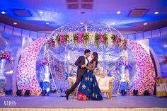 Destination Wedding Event Planning Ideas and Tips Wedding Hall Decorations, Wedding Entrance, Engagement Decorations, Wedding Mandap, Wedding Poses, Reception Stage Decor, Indian Bridal Photos, Luxury Wedding Decor, Wedding Background