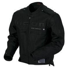 Icon Motorhead Leather Motorcycle Jacket