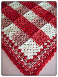 Transcendent Crochet a Solid Granny Square Ideas. Inconceivable Crochet a Solid Granny Square Ideas. Crochet Quilt, Crochet Squares, Crochet Home, Love Crochet, Crochet Granny, Crochet Blanket Patterns, Crochet Gifts, Baby Blanket Crochet, Knitting Patterns
