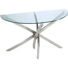 Magnussen Zila Demilune Sofa Table
