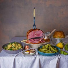 Florence Knight's Easter recipes | Spring food and drink | The Guardian Honey Roast Ham, Honey Baked Ham, Spring Recipes, Easter Recipes, A Food, Food And Drink, Roasted Ham, Baking With Honey, Good Fats