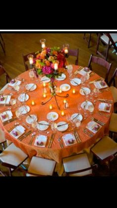 Navy U0026 Orange Table Setting | Design Table Series July Table Artistry |  Pinterest | Orange Table, Beach Wedding Inspiration And Table Settings