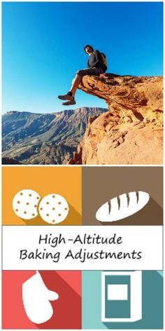 High Altitude Baking Adjustments - There are six factors you'll need to correct in adjusting a cake recipe for high altitude: Oven Temp, Baking Time, Sugar, Liquid, Flour and Leavening. Bakery Recipes, Tart Recipes, Baking Tips, Bread Baking, Tortilla Bake, High Altitude Baking, Making Life Easier, Food Hacks, Food Tips