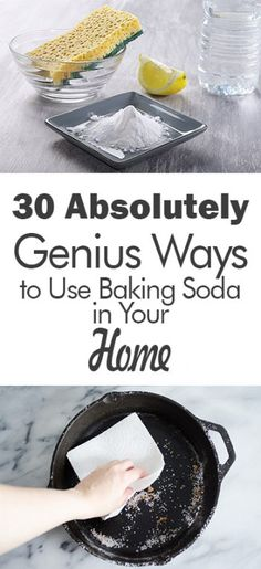 30 Absolutely Genius Ways to Use Baking Soda in Your Home