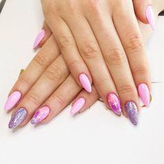 by Agata Kaczmarek, Follow us on Pinterest. Find more inspiration at www.indigo-nails.com #nailart #nails #galaxy