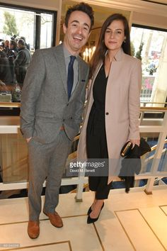 Joe McFadden (L) attends the TRIC Awards 2018 held at The Grosvenor House Hotel on March 13, 2018 in London, England.