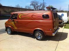 1973 Dodge Custom 70's Van Denny's Dynasty 500hp Beast