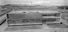 studiobua: The Anti-tuberculosis Dispensary, Alessandria, Italy, by Ignazio Gardella Bauhaus, Concept Architecture, Modern Architecture, Art Deco, Amsterdam, Home Appliances, Building, Design, Socks