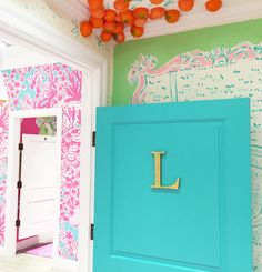 Lilly Pulitzer Dressing Room at Palm Beach Gardens Mall