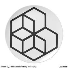 Horse (+) / Melamine Plate