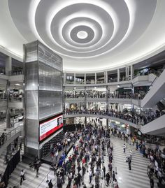Mall of America – East Boulevard Renovation, Bloomington, Minnesota. Lighting Design by Cooley Monato Studio