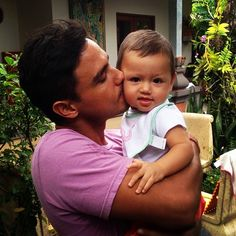 My godson can walk now! I\'ve been such a bad godfather because I\'ve been out of town for so long. Sorry @meriserissa @lokalliving! But holding Panji just now made my day.