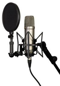 concrafter youtube equipment großmembran mikrofon - youtuber equipment