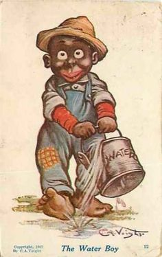 Black Americana, The Water Boy, Artist C.A. Voight