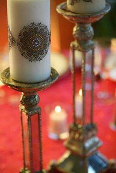 Mehndi / Henna Candles