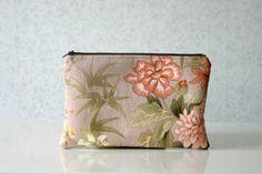 Retro Floral Clutch bag Vintage Inspired Flowers by HelloVioleta, $20.00