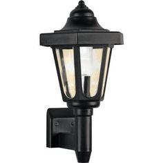 Buy Solar Outdoor Wall Light - Black at Argos.co.uk - Your Online Shop for Solar lighting. £7.99