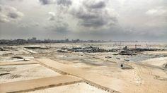 9th floor view of Eko Atlantic from Afren Headquarters. Lagos, Nigeria