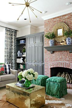 Love The Chinoiserie Elements With Glam Farmhouse And Traditional Touches So Perfect