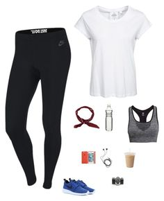 """""""Untitled #1374"""" by tayloremily218 on Polyvore featuring NIKE, Cheap Monday, H&M, Diane Von Furstenberg and Dot & Bo"""