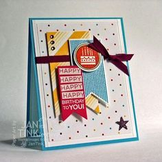Stampin' Up! Amazing Birthday Card