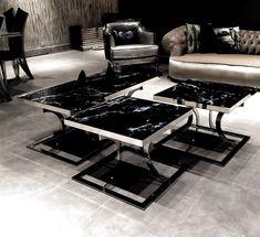 Deco Furniture, Metal Furniture, Luxury Furniture, Furniture Design, Balcony Railing Design, Modern Console Tables, Coffee Table Design, Modern Interior Design, Home Accessories