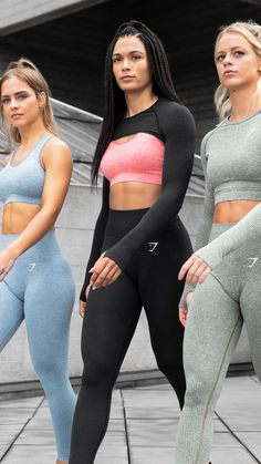 The Vital Seamless Collection! Empowered through strength. Sporty Outfits, Athletic Outfits, Cute Outfits, Fashion Outfits, Athletic Fashion, Athletic Shorts, Fashion Ideas, Workout Attire, Workout Wear