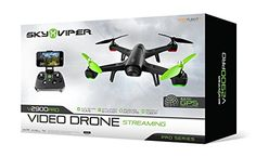 Sky Viper v2900PRO Streaming Video Drone - Pro Series GPS with AUTO Launch, Land, Hover 2016 Edition | RC Drones And Helicopters