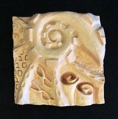 Clay Relief, Zentangle Sculpture - Conway High School Art Project