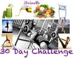 30 Day Health Challenge! #fitness #health #30daychallenge #nutrition