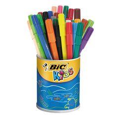 BIC Kids Visa, 36st. Afmeting:lengte stift 14,5 cm - BIC Kids Visa, 36st.