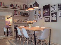 Ideas diy apartment decorations studio apt for 2019 - - Studio Apartment Decorating, Diy Apartment Decor, Living Room Designs, Living Room Decor, Bedroom Organization Diy, Dinner Room, Dining Room Inspiration, Scandinavian Home, Furniture For Small Spaces