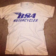 1950'S Spruce BSA T-Shirt Size M.  Good Condition  #vintage # BSA#tshirt #Padgram